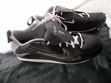Adida's Spinner 9 Low Metal Size 15 Baseball Cleats Black/White G05185