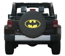 "SpareCover Universal Batman Logo Spare Tire Cover Wheel 32-33"" New Free Shipping"