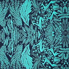 By 1/2 Yard ~ Amy Butler Cotton Fabric ~ Bright Heart Oh Deer in Navy