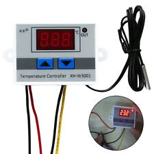 220V Digital LED Temperature Controller 10A Thermostat Control Switch Probe Hot