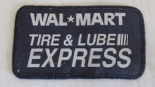 WAL MART Tire & Lube Express Oil Car Care Embroidered Patch Applique Badge Logo