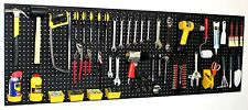 "WallPeg 72"" Wide Pegboard Kit, Peg Hooks & Bins - Garage Storage, Tools EB24243B"