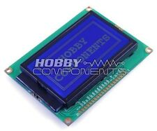 128 x 64 Dots Graphic Blue Color Backlight LCD Display module ST7920 Controller