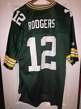 Aaron Rodgers Home Green Football Jersey Men's Size XL New without tags