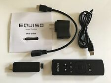 Equiso Streaming Smart Stick -Android HDMI dongle with remote for HD TV Streamer