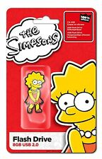 CLE USB 8Go OFFICIELLE LISA SIMPSON / les simpsons 8 gb clef  8 go flash drive