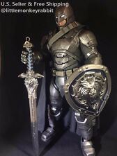 1/6 scale sword full metal WOW Great Royal Guard Sword and shield