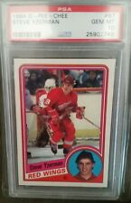 psa 10 1984 o pee chee steve yzerman 67 HOF new style holder