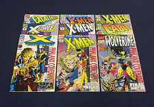 PHALANX COVENANT COMPLETE : FOIL COVERS : MARVEL 1994 : 9 ISSUES : X-MEN, CABLE