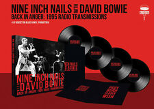 NINE INCH NAILS & BOWIE New Sealed Ltd 2017 LIVE CONCERT 4 VINYL RECORD BOXSET