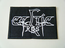 CELTIC FROST PATCH Embroidered Iron On Sew On Heavy Thrash Metal Hellhammer NEW