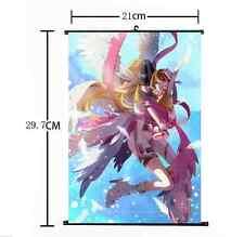 Hot Japan Anime Digimon Adventure Yagami Hikari Home Decor Poster Wall Scroll