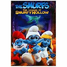 NEW The Smurfs: The Legend of Smurfy Hollow (DVD, 2013)