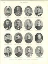 1899 eminenti funzionari ANTERIORE NERO fattore di guerra