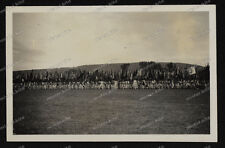 Foto-Stuttgart-Bad-Cannstatt-Deutsches-Turnfest-Sportler-Turner-Fahnenwald-1933