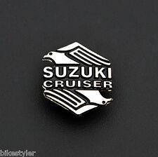Suzuki Cruiser intruder marauder Boulevard Motorcycle Metal Badge Biker Vest Pin