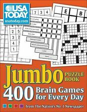 USA Today Puzzles: USA TODAY Jumbo Puzzle Book : 400 Brain Games for Every...