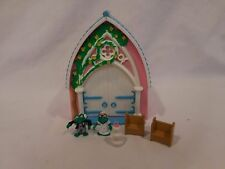 1995 Vivid Imaginations Teeny Weeny mini families wedding playset with accessori