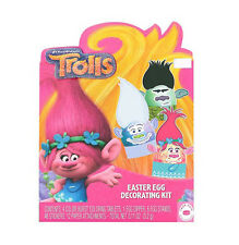 DUDLEYS*^ 71pc Kit DREAMWORKS TROLLS Decorating Egg EASTER Tablets+Stickers+MORE