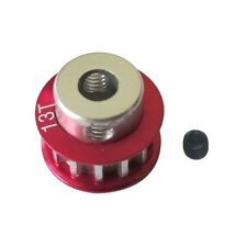 CNC Metal 13T Pulley Gear for SAKURA D3 CS 1/10 Drift Racing Car