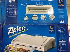 Ziploc Vacuum Sealer System V203. Food Meat sealer Storage