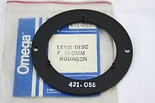 OMEGA ENLARGER LENS DISC FOR 210MM RODAGON NO.421-055