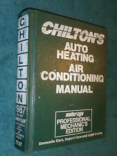 1982-1987 FORD / CHEVY / PONTIAC/ LINCOLN / DODGE++ AIR CONDITIONING SHOP MANUAL