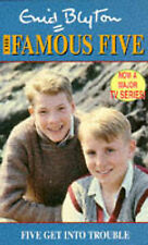 Enid Blyton Five Get into Trouble (The Famous Five TV tie-ins) Very Good Book