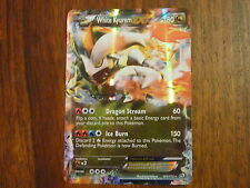 CARTE POKEMON ULTRA RARE WHITE KYUREM EX 101/113 HOLO VO