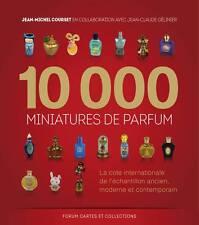 Livre 10000 miniatures de parfum