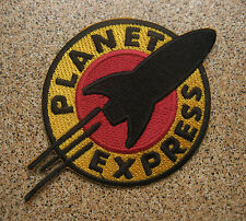 FUTURAMA The Planet Express Embroidered Iron-On Patch Badge A