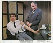 DEAN MARTIN MARTIN BALSAM WHO'S BEEN SLEEPING IN MY BED 1963 VINTAGE LOBBY CARD
