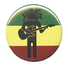 B468 -  Rasta Man Guitar Button