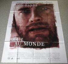 AFFICHE CINEMA 1667 - SEUL AU MONDE - TOM HANKS - FORMAT 120 / 160