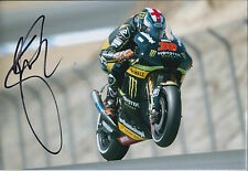 Bradley SMITH Signed 12x8 Photo AFTAL Autograph COA Yamaha Rider Moto2 Genuine