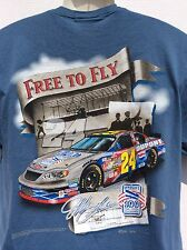 Jeff Gordon FREE TO FLY Wright Brothers 100 yrs of aviation 2 sided t shirt sz M