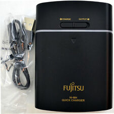 Fujitsu USB Quick charger powerbank Quick charges up to 4 AA or AAA batteries