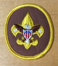 BOY SCOUT TENDERFOOT RANK SCOUT BADGE  NEVER USED