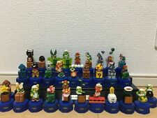 Super Mario Brothers Bros Pepsi dots bottle cap Figure 30 complete set Nintendo