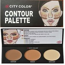 CITY COLOR CONTOUR PALETTE CONTOUR + bRONZE + HIGHLIGHT SET FOR FACE