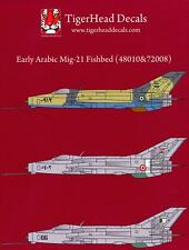 Tigerhead Decals 1/48 MIKOYAN MiG-21 FISHBED Egypt & Iraq
