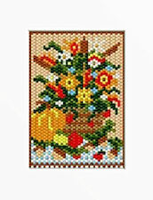 Fall Floral Beaded Banner Pattern