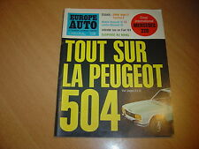 Europe Auto N° 15 Mercedes 220.BMW 1600 Ti.Renault 16 TS.Cortina E