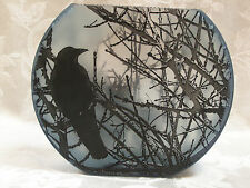 Mary-Melinda Wellsandt Crow Medium Sized Flat Fish Bowl Vase