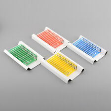 48pcs Various Insects Plastic Prepared Microscope Slides for Children
