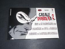DIABOLIK set di 10 cartoline Casale Diabolika 2^ ed. dis. Statella - ECCELLENTE