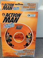 ACTION MAN INFLATABLE SWIM RING - BNWT