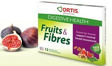 Ortis Fruits and Fibres 120g Chewable Fruit Cubes - Pack of 12 Cubes