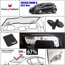 1 Pc Back Rear Windscreen Foldable Curtain Car Sun Shade Fit For Toyota Prius C