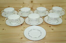 "Royal Doulton Coronet (7) Cups, 2 1/8"" & (8) Saucers, 6 1/8"""